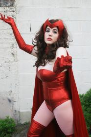 Scarlet Witch from Marvel Comics by GalaktikMermaid