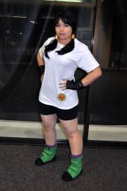 Videl Satan from Dragonball Z worn by Emmitz
