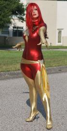 Dark Phoenix from X-Men worn by Tantrim