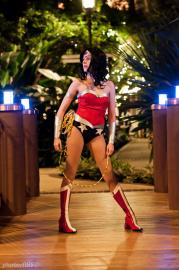 Wonder Woman from DC Comics worn by Whats Shakin Bacon