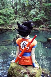 Goku from Dragonball Z worn by elita-1