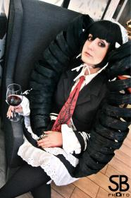 Celestia Ludenberg from Dangan Ronpa worn by Fraxinus Cosplay
