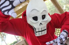 Papyrus from Undertale worn by Fraxinus Cosplay