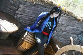 Vriska Serket from MS Paint Adventures / Homestuck worn by Fraxinus Cosplay