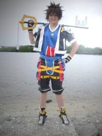 Sora from Kingdom Hearts 2 worn by AkwardStranger