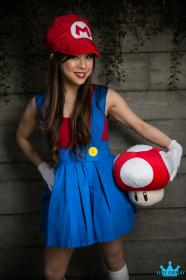 Mario from Super Mario Brothers Series worn by Riri