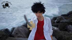 Takeshi Yamamoto from Katekyo Hitman Reborn! worn by J-Jo Cosplay