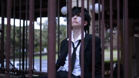 Shinya Kōgami from Psycho-Pass worn by J-Jo Cosplay