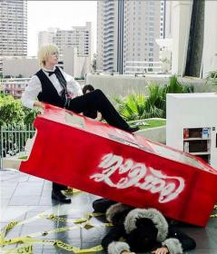 Shizuo Heiwajima from Durarara!! worn by J-Jo Cosplay
