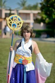Yuna from Final Fantasy X worn by Aoi Memori