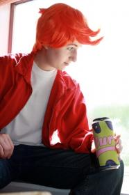 Philip J Fry from Futurama worn by dismaldreary