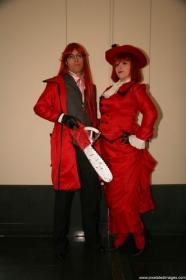 Grell Sutcliff from Black Butler worn by Lovian