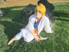 Alibaba Saluja from Magi Labyrinth of Magic worn by Nana-chan Cosplay