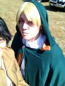 Irvin Smith from Attack on Titan worn by Embryon