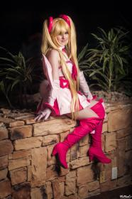 Flonne from Disgaea D2: A Brighter Darkness by Felicia Dark