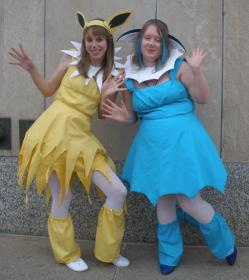 Vaporeon from Pokemon worn by LesserKudu
