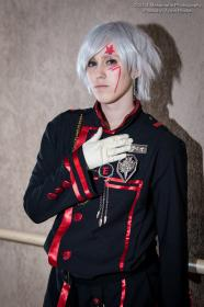 Allen Walker from D. Gray-Man  by Nekobishi