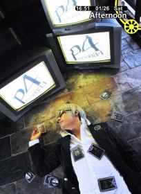 Protagonist from Persona 4 worn by Apple.