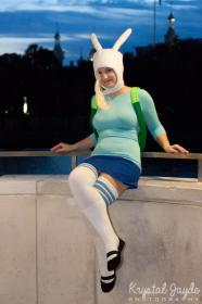 Fionna from Adventure Time with Finn and Jake  by Madi