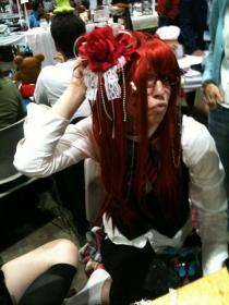 Grell Sutcliff from Black Butler worn by Peach Cream