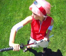 Sakura Haruno from Naruto Shippūden worn by Peach Cream