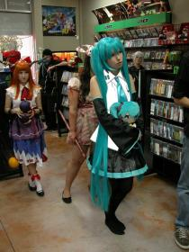 Hatsune Miku from Vocaloid worn by Peach Cream