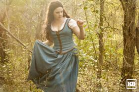 Belle from Once Upon a Time worn by Khamomeal Tea