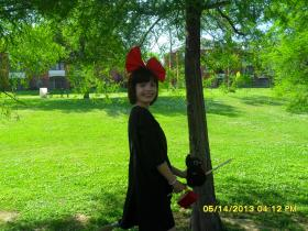 Kiki from Kiki's Delivery Service  by The Jellybean Cosplayer