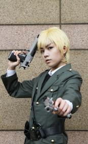 UK / England / Arthur Kirkland from Axis Powers Hetalia worn by Jermany