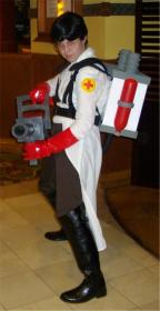 Medic from Team Fortress 2 worn by 2xdinosaurs