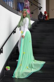 Shaymin from Pokemon worn by JayMCee