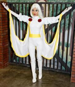 Storm from X-Men worn by Sara Moni