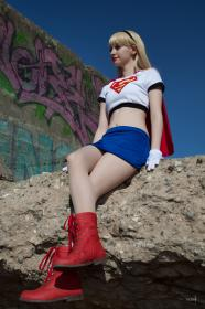 Supergirl from Superman worn by AliceInTheTARDIS