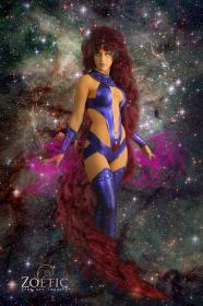 Starfire from Teen Titans worn by Verona