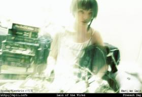 Lain Iwakura from Serial Experiments Lain worn by Mari Aerony