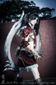 Tira from Soul Calibur 4 worn by Zephyr Ramsay