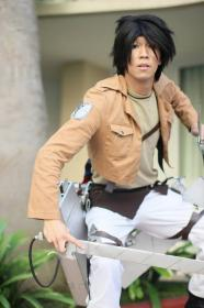 Eren Yeager from Attack on Titan  by Rin Dunois