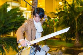 Levi from Attack on Titan  by Rin Dunois