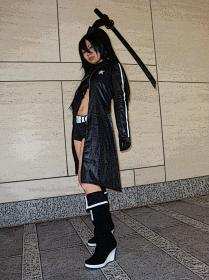 Black Rock Shooter from Black Rock Shooter worn by Weiward