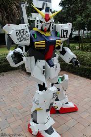 RX-178 Gundam Mk-II from Mobile Suit Zeta Gundam  by UbersCosplay