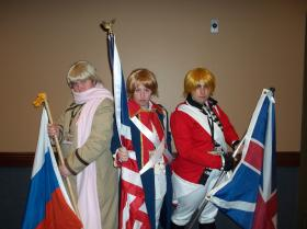 Russia / Ivan Braginski from Axis Powers Hetalia worn by Siberia