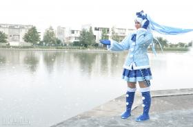 Hatsune Miku from Vocaloid 2 worn by Starry Akari