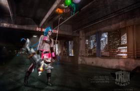 Jinx from League of Legends worn by ShatteredStitch
