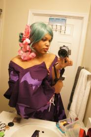 Morrigan Aensland from Cross Edge worn by The Jackal