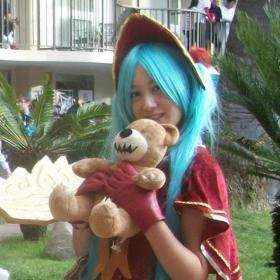 Sona from League of Legends worn by Methecello