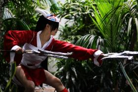 Akali from League of Legends worn by Tawny Owl