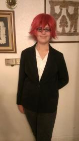 Grell Sutcliff from Black Butler worn by Jordan 'Xander Stein' H