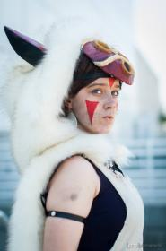 San from Princess Mononoke worn by Angi Viper