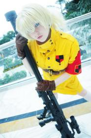 Victoria Seras from Hellsing worn by WT Frell
