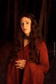 Melisandre from Game of Thrones worn by konekoanni